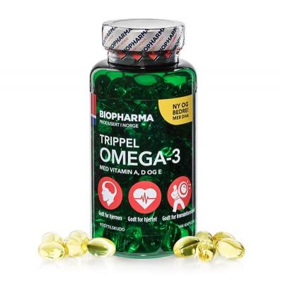 Рыбий жир Biopharma Trippel Omega-3