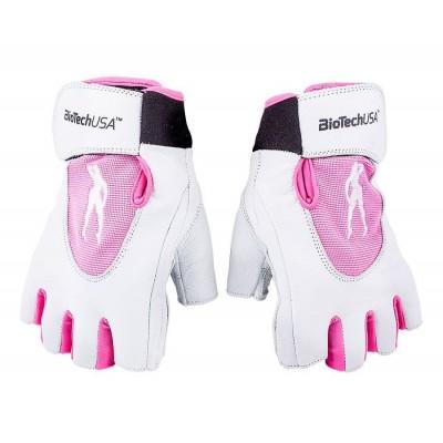 Перчатки женские BioTech USA Pink Fit Lady 1