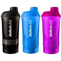 BioTech USA Shaker 600 мл 3 в 1