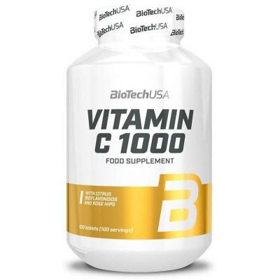 Витамин Ц Biotech USA Vitamin C 1000 (100 таб)