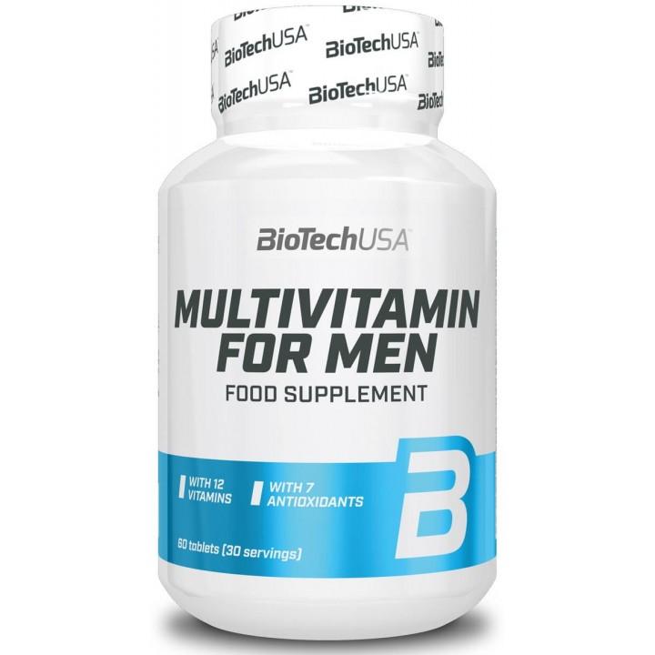 Витамины для мужчин BioTech USA Multivitamin for Men (60 таб)