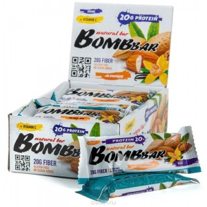 Протеиновый батончик Bombbar (60 гр)
