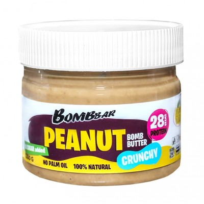 Паста арахисовая Bombbar Peanut Bomb Butter (300 гр)