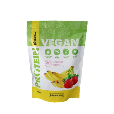 Гороховый протеин Bombbar Vegan Protein (900 гр)