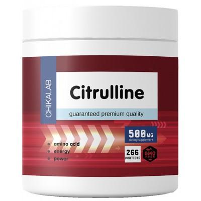 Цитруллин малат Chikalab Citrulline (200 гр)