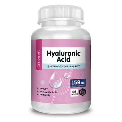 Гиалуроновая кислота Chikalab NaturalSupp Hyaluronic Acid (60 капс)