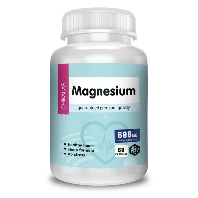 Магний Chikalab Magnesium (60 капс)