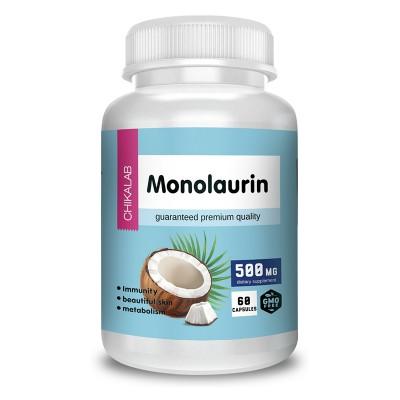 Монолаурин Chikalab Monolaurine (60 капс)