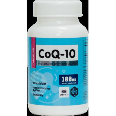 Коэнзим Q10 Chikalab Coenzyme Q10 (60 капс)