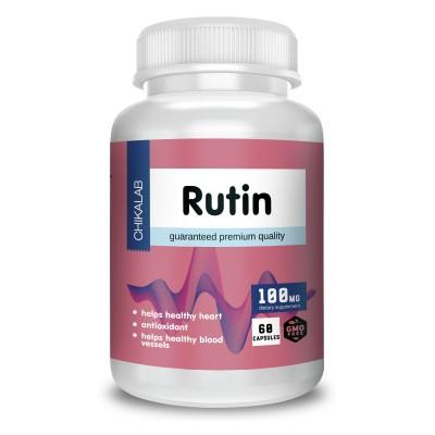 Рутин Chikalab Rutin (60 капс)