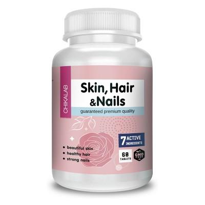 Комплекс для кожи, волос и ногтей Chikalab Skin, Nails & Hair (60 капс)