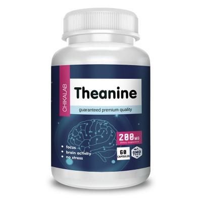Теанин Chikalab L-Theanine (60 таб)
