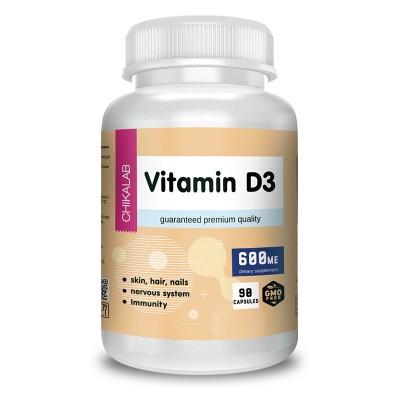 Витамин Д3 Chikalab Vitamin D3 (90 капс)
