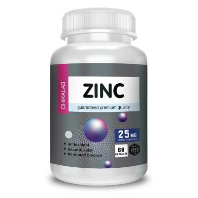 Цинк Chikalab Zinc (60 капс)