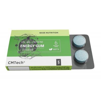 Кофеиновая жвачка CMTech Energy Gum (6 шт)