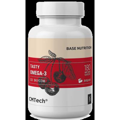 Рыбий жир жевательный для детей и взрослых CMTech Omega-3 (180 таб)