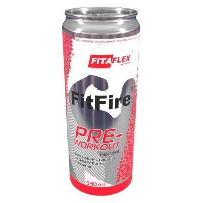 Предтренировочный комплекс FitaFlex FitFire (330 мл)
