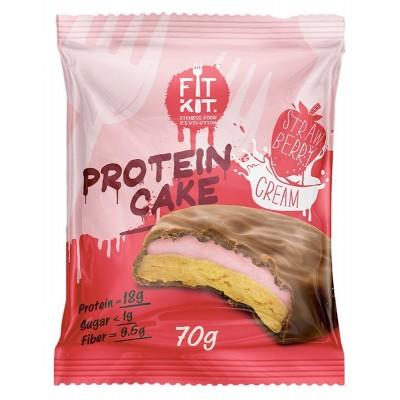 Протеиновое печенье Fit Kit Protein Cake (70 гр)