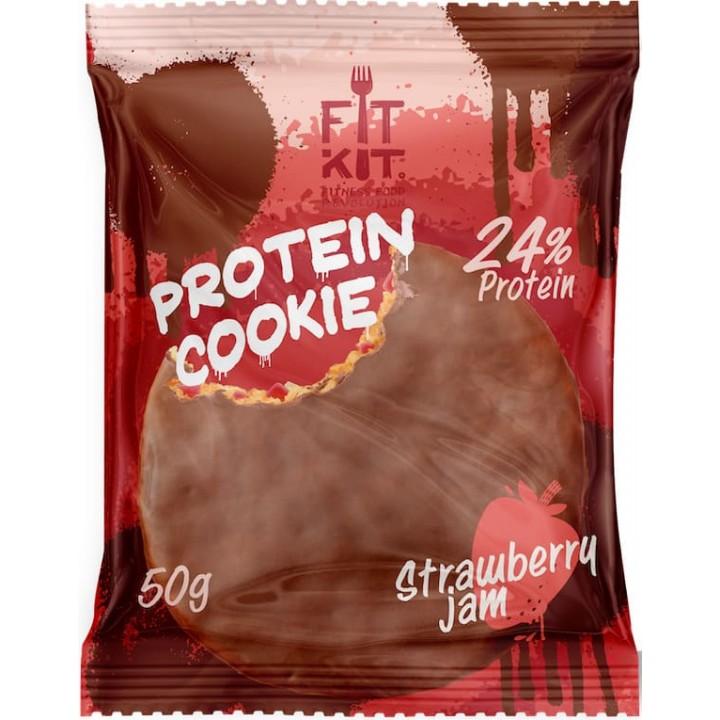 Протеиновое печенье Fit Kit - Protein Chocolate Cookie (50 гр)