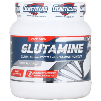Глютамин Geneticlab Glutamine Powder (500 гр)
