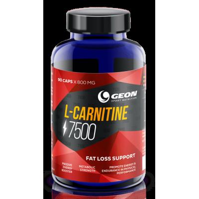 Карнитин GEON L-Carnitine 7500 (90 капс)