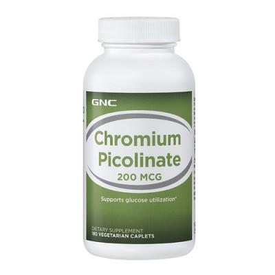 Пиколинат хрома GNC Сhromium Picolinate (180 капс)