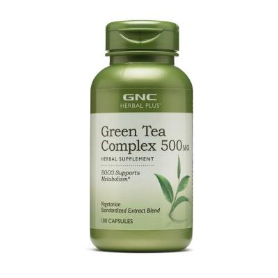 Экстракт зелёного чая GNC Green Tea Extract (100 капс)