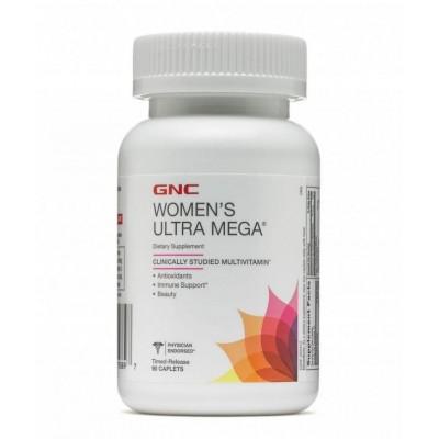 Витамины для женщин GNC Women's Ultra Mega (60 таб)