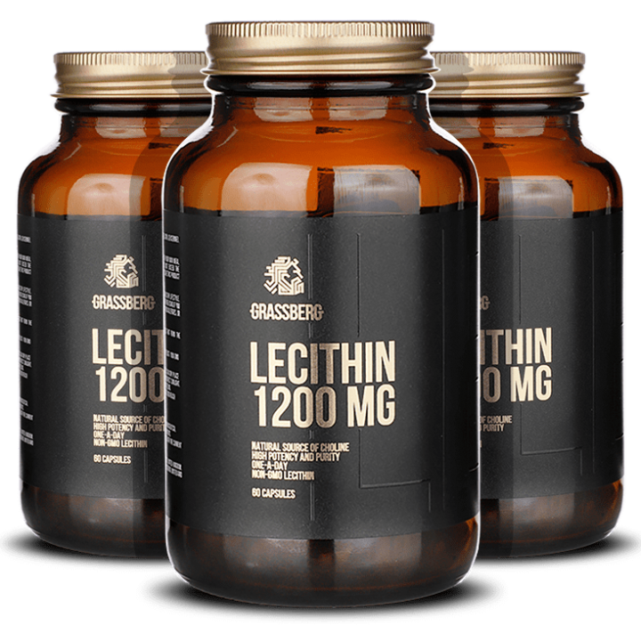 Лецитин Grassberg Lecithin (60 капс)