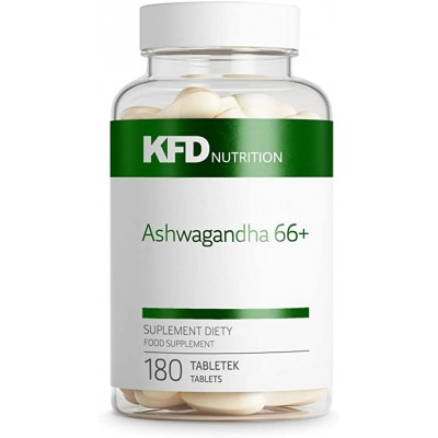 Ашваганда KFD Nutrition Ashwagandha 66+ (180 таб)