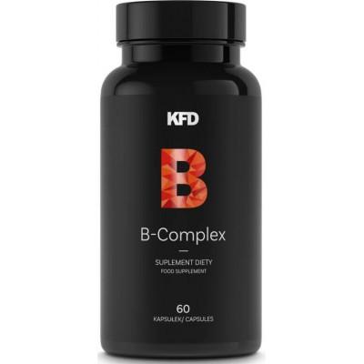 Витамины группы Б KFD B-Complex (60 капс)
