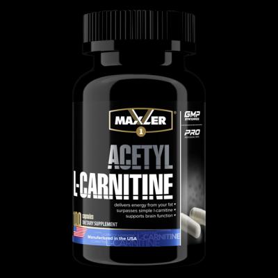 Карнитин Maxler Acethyl L-Carnitine (100 капс)