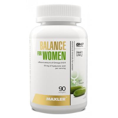 Витамины для женщин Maxler Balance for Women (90 капс)