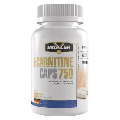 Карнитин Maxler L-Carnitine Caps 750 (100 капс)