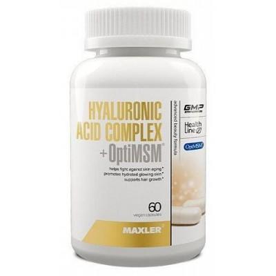 Гиалуроновая кислота Hyaluronic Acid Complex + OptiMSM (60 капс)