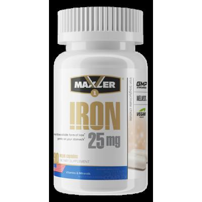Железо Maxler Iron 25 mg (90 капс)