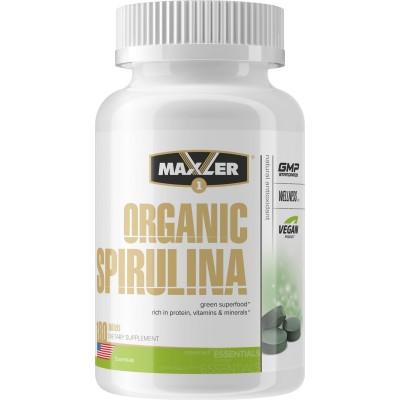 Спирулина Maxler Organic Spirulina (180 таб)