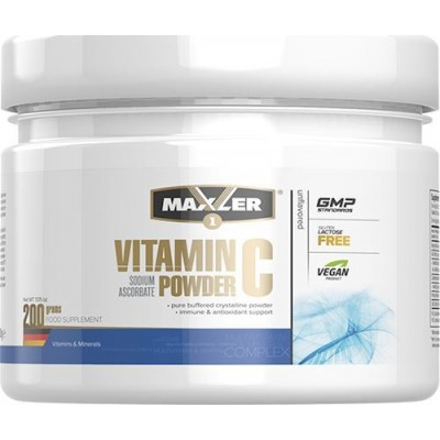 Витамин С Maxler Sodium ascorbate Vit. C (200 гр)