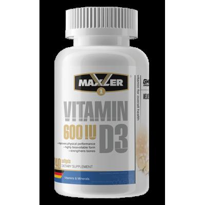 Витамин Д3 Maxler Vitamin D3 (240 капс)