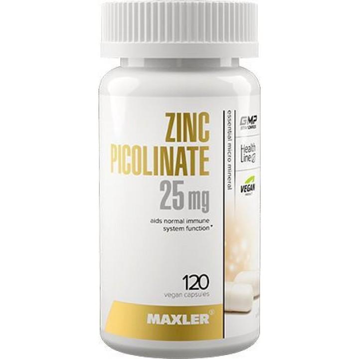 Цинк Maxler Zinc Picolinate 25 мг (120 капс)