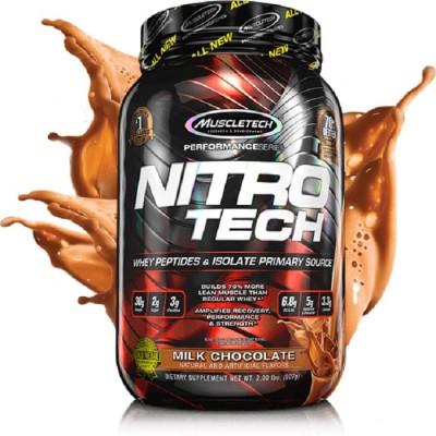 Протеин сывороточный MuscleTech Nitro Tech (907 гр)