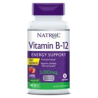 Natrol Vitamin B12 5000mcg (100 таб)