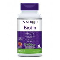 Natrol Biotin 10000 Fast Dissolve (60 таб)