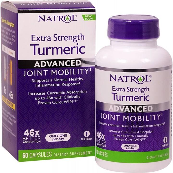 Natrol Extra Strength Turmeric - куркумин