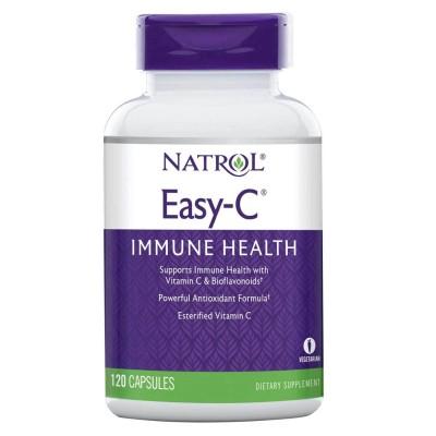 Витамин С Natrol Easy-C (120 капс)
