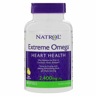 Рыбий жир Natrol Extreme Omega (60 капс)