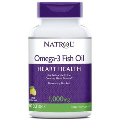 Рыбий жир Natrol Omega-3 Fish Oil