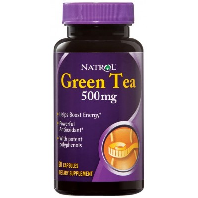 Экстракт зелёного чая Natrol Green Tea (60 капс)