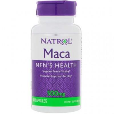 Мака перуанская Natrol Maca (60 капс)