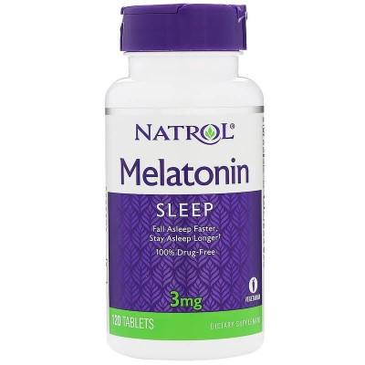 Мелатонин Natrol Melatonin 3 мг